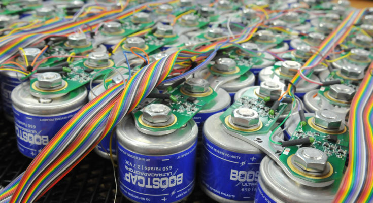 Capacitor Management Battery